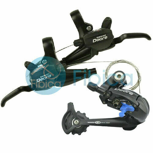 New Shimano Deore RD M530 ST M530 Brake//Shifters Rear Derailleur Groupset 3x9s