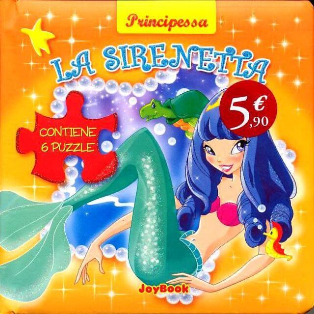 La sirenetta. Con 6 puzzle - Ed. JoyBook