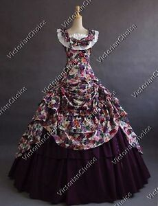 Civil-War-Southern-Belle-Princess-Gown-Scarlett-O-039-Hara-Dress-Cosplay-Costume-081