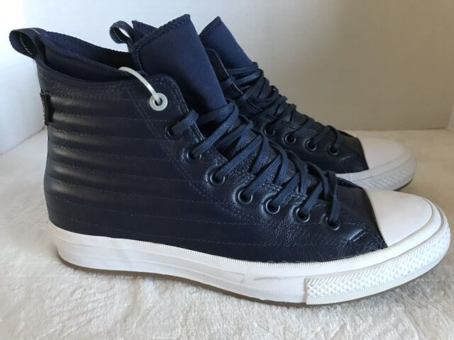 Converse Chuck Taylor All Star CTAS Wp Boot Hi Blue Leather 157490C SZ 9