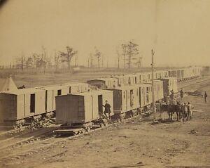 Railroad-boxcars-and-telegraph-station-Manassas-Junction-Virginia-Photo-Print