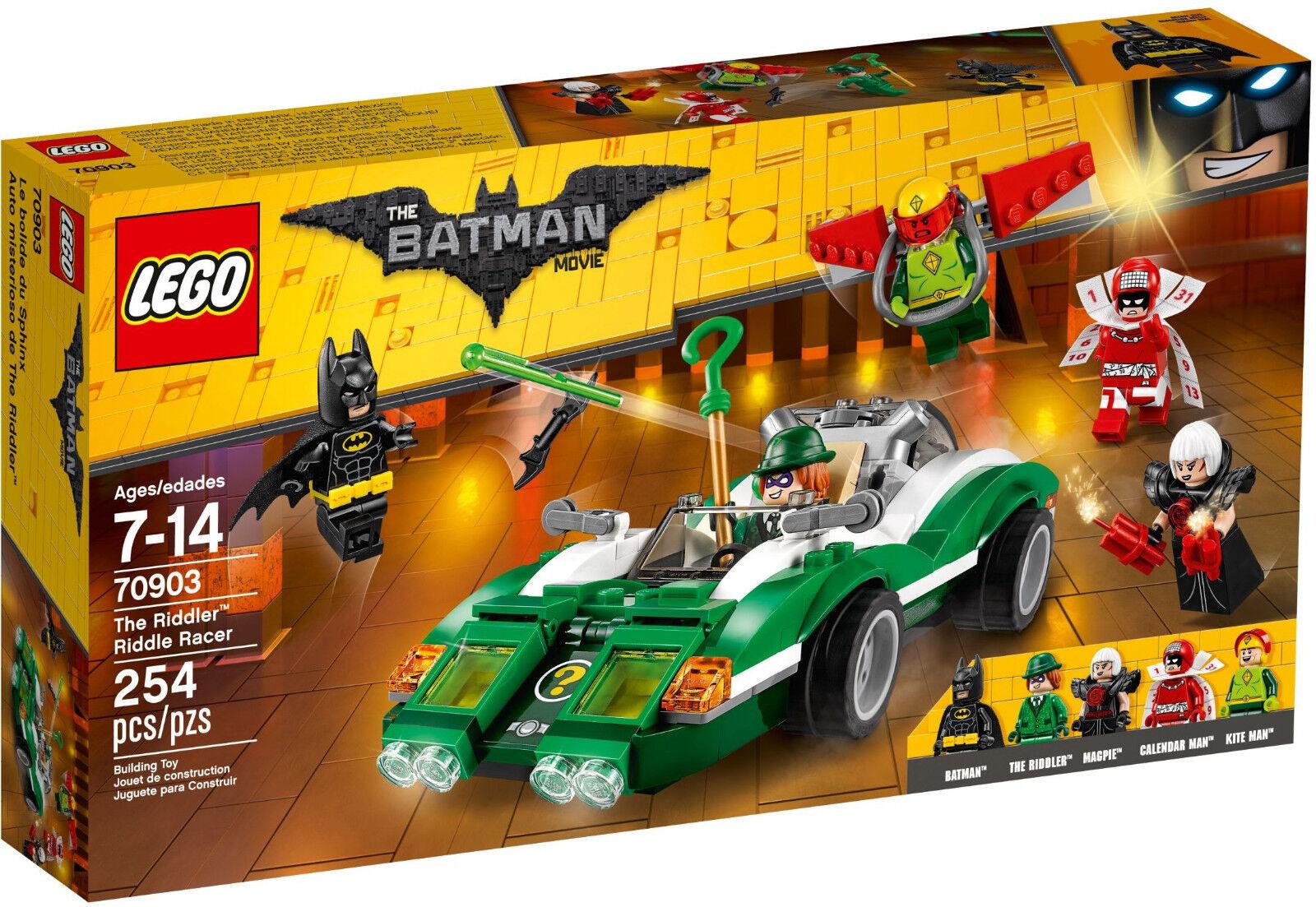 LEGO Batman Movie - 70903 The Riddler Riddle Racer m. Magpie Kite Man - Neu OVP