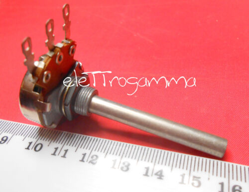 potenziometro logaritmico rotativo  2,5k   2.500 ohm ref 950