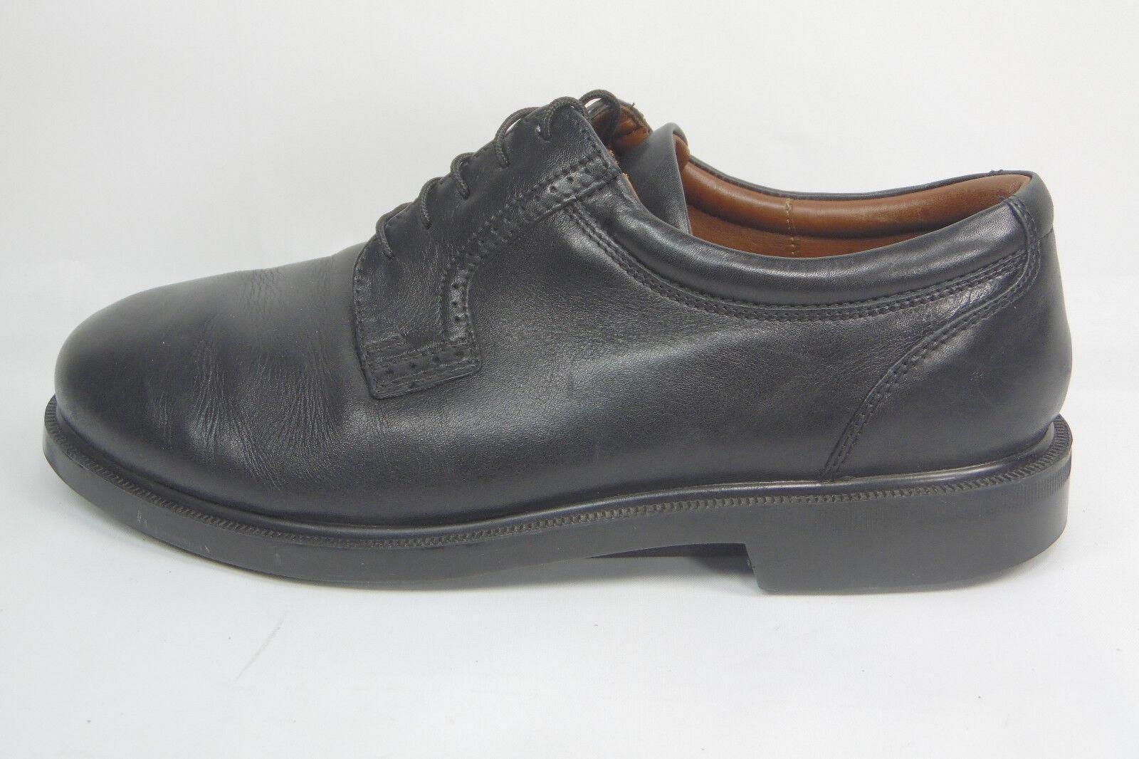 Florsheim Uomo Noble leather plain toe  Shoes 17080-01 17080-01 17080-01 Nero 8.5W 17eeea