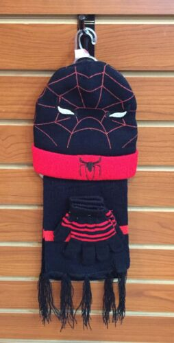 New Set 3 pc Hat Scarf Gloves Kids toddlers Boy Girl Princess Spiderman 2T to 4T