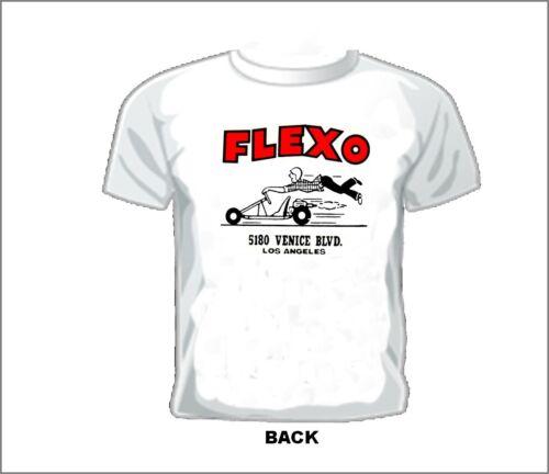 Vintage GASSER//DRAG//NASCAR//SPRINT//MIDGET RACE T-shirt FLEXO BIG BEAR GOKART