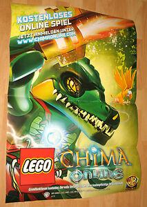 LEGO-Legends-of-Chima-Promo-Poster-from-Gamescom-2013-very-Rare-59x84cm