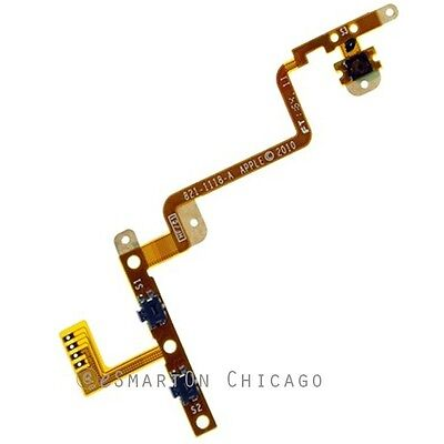 Power Volume Button Flex Cable Replacement Parts for Apple iPod Touch 4 4th Gen