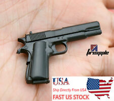 "1:6 Scale 4D Assemble M1911A1 Pistol Model Gun Weapon Toy F 12"" Action Figure"