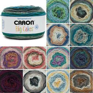 Caron-Big-Cakes-Aran-Yarn-Knitting-Crochet-Crafts-300g-Ball-Wool