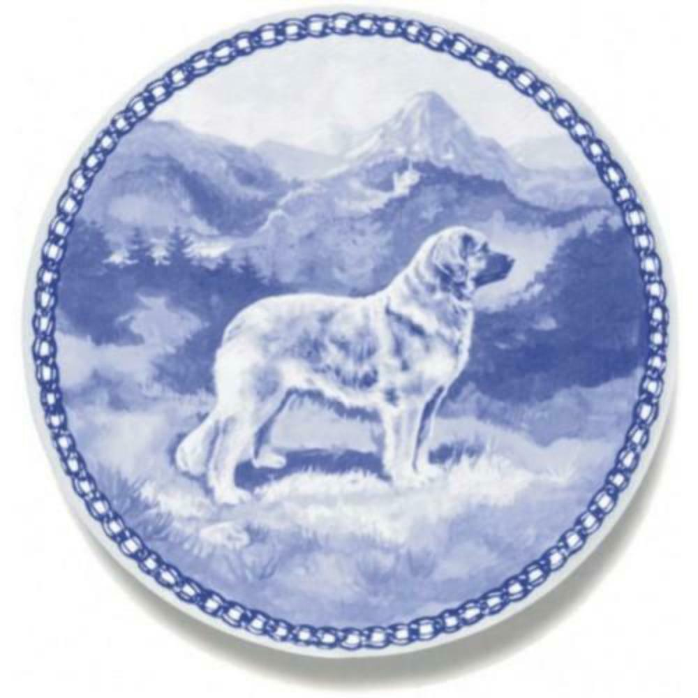 Leonberger  Dog Plate made in Denmark from the finest European Porcelain
