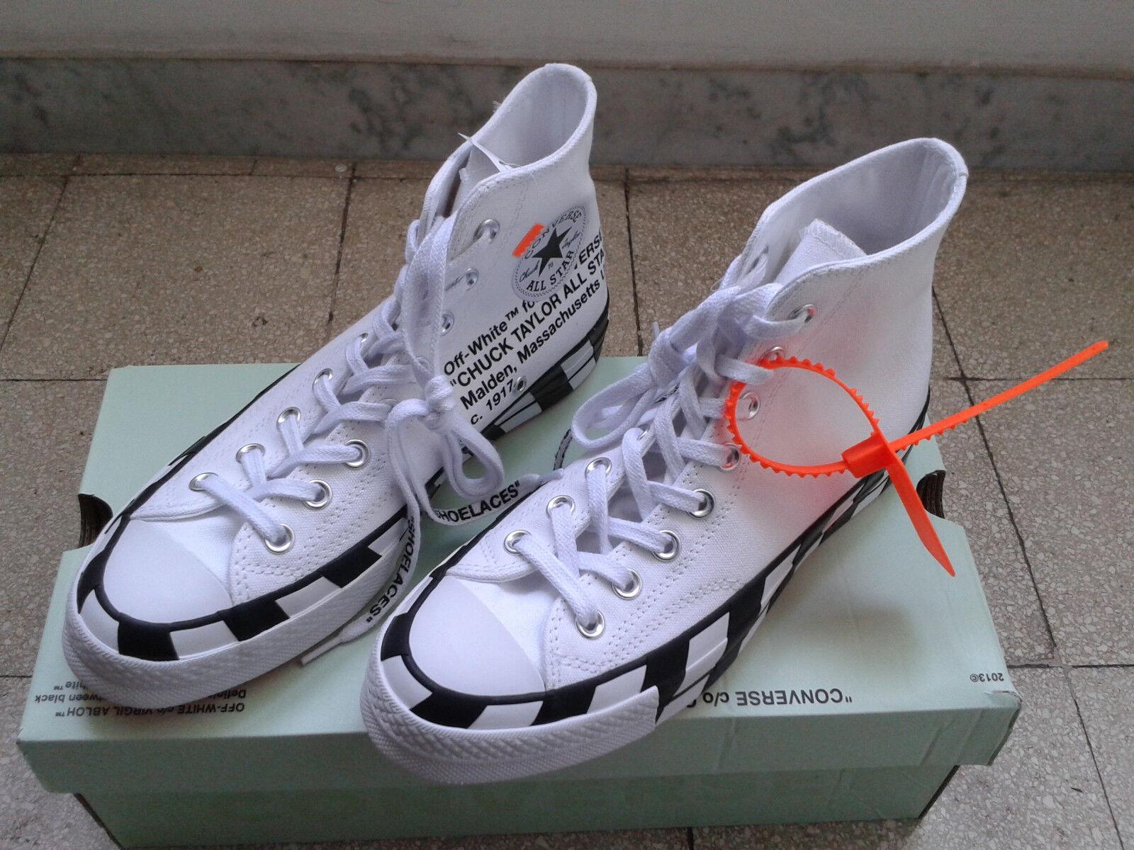 Converse x Off-bianca Chuck 70 High Top    ULTIMO DISPONIBILE    US 6.5   EU 39.5 | Buy Speciale  | Uomo/Donne Scarpa