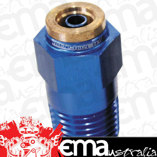 "Aeroflow AF121-02 1//8/"" NPT Straight to 3//16/"" 120Series Nylon Blue Fitting"