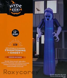 Lightshow Inflatable ShortCircuit Ghoul Ghost Home Accents Holiday 12 ft