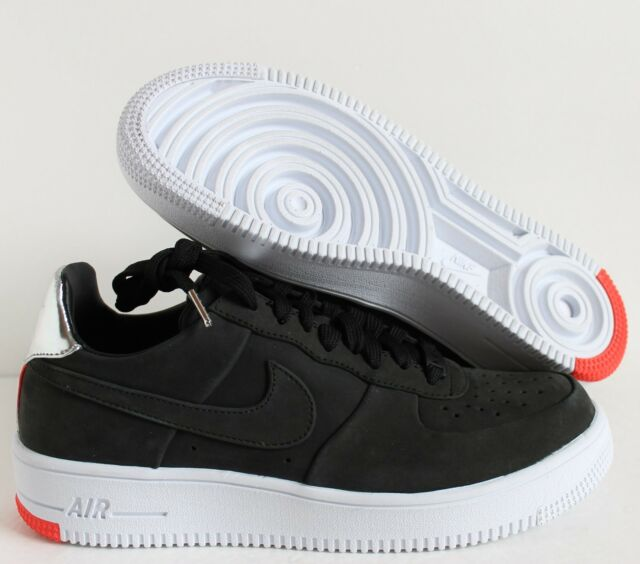 NIKE AIR FORCE 1 ULTRAFORCE FC QS BLACK CHROME WHITE SZ 7.5 [865306 001]