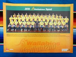 ✺New✺ 2016 QANTAS WALLABIES Poster - 42cm x 29.5cm