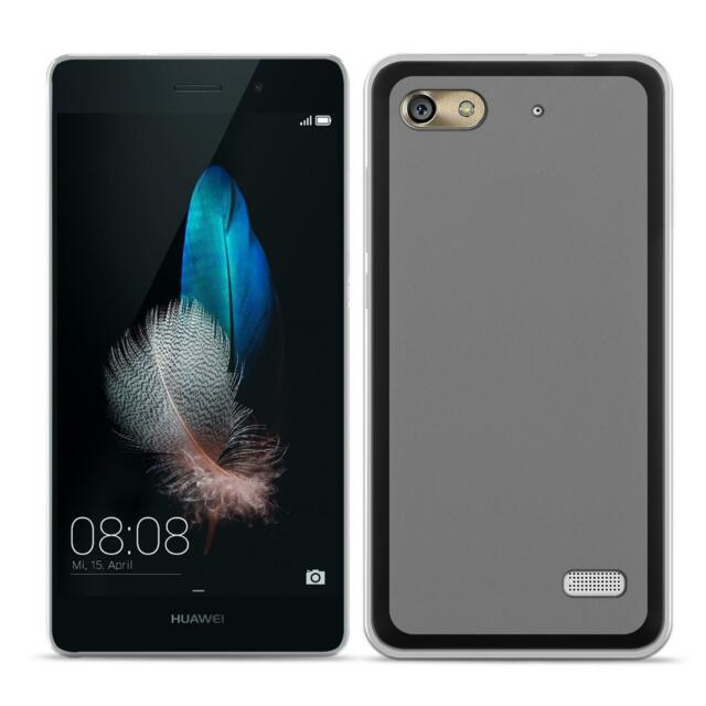 Dünn Slim Cover Huawei G Play Mini Handy Hülle Silikon Case Schutz Tasche Bumper