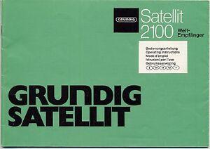 operating instructions user manual with scheme grundig satellite rh ebay com