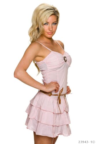 Damen Mini Kleid Party Cocktail Tanzkleid Latina A-Linie Schulterfrei Volant
