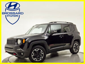 2015 Jeep Renegade 4WD 4dr Trailhawk MAGS CUIR  VOLANT CHAUFFANT