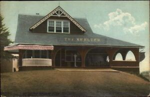 Cheshire-CT-The-Shelter-c1910-Postcard