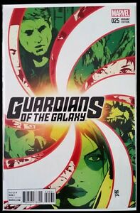 GUARDIANS-of-the-GALAXY-25-variant-2015-MARVEL-Comics-VF-NM-Comic-Book