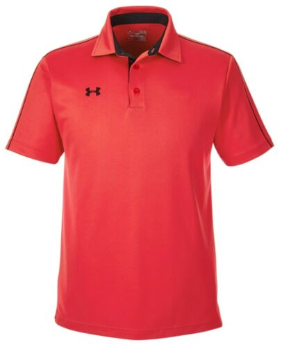 SHORT SLEEVE RESISTS ODORS S-4XL MEN/'S UNDER ARMOUR MOISTURE WICKING POLO