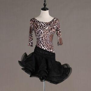 Details about Latin Ballroom Competitio n Dance Dress Modern Waltz Tango  Standard Dress#FM430