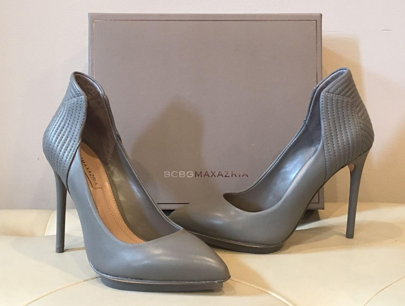 BCBGMAXAZRIA Wouomo Ma-Abbott Dress Pump scarpe grigio Dusk 7M