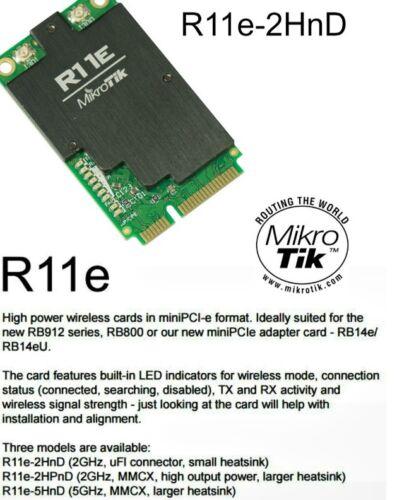 Mikrotik R11e-2HnD 2.4Ghz 802.11b//g//n 800mW