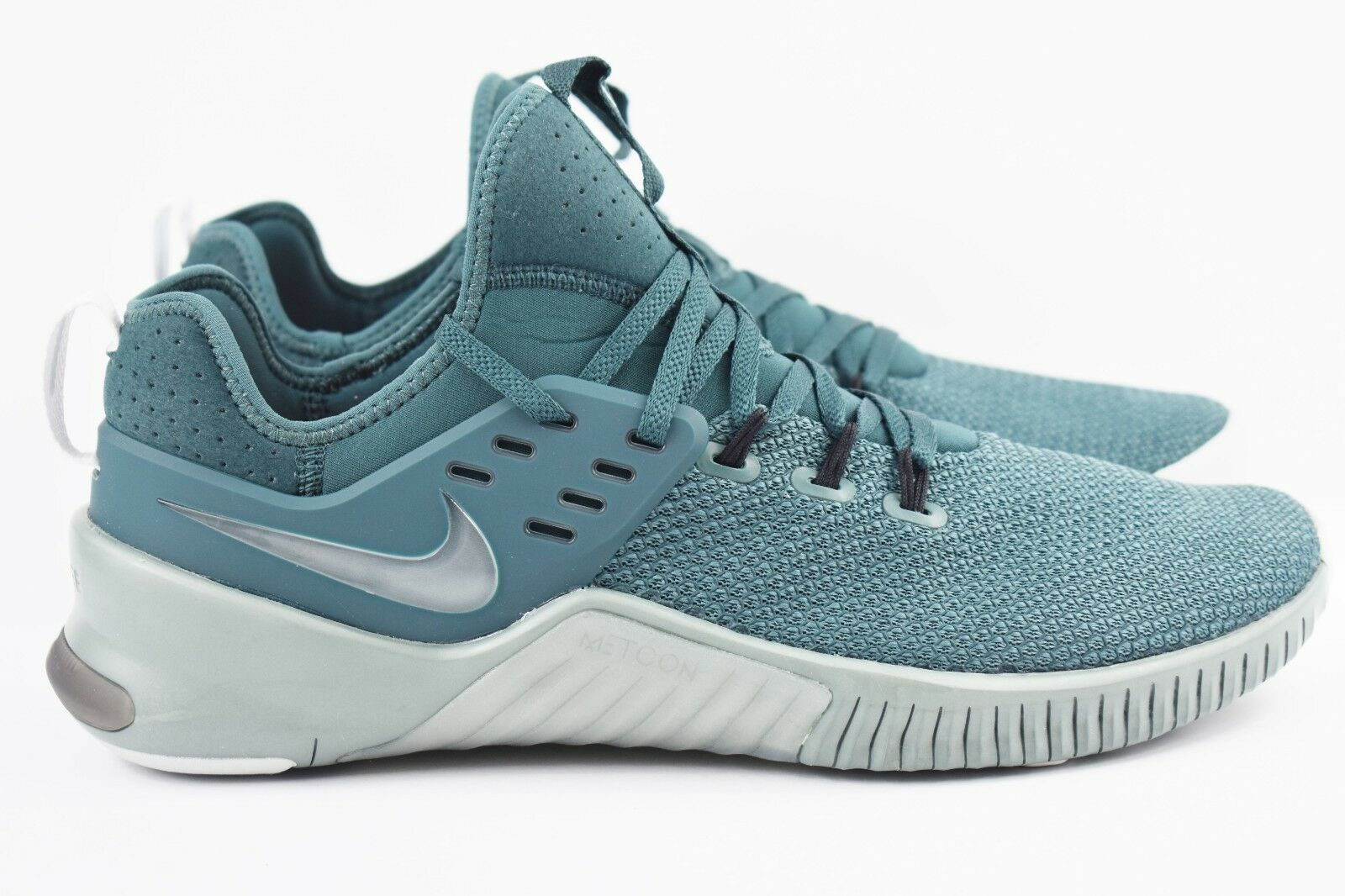 Nike Free X Metcon Mens Size 9.5 Green Training shoes Crossfit AH8141 331 Rare