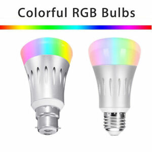 B22-E27-Smart-Bulb-Wireless-WIFI-APP-RGB-Dimmbar-LED-Lampe-Alexa-Google-Home-7W