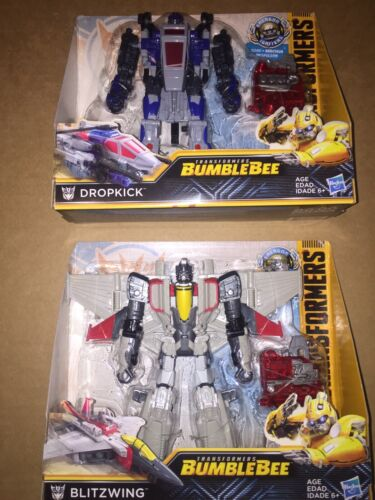 TRANSFORMERS Bumblebee Movie Energon Igniters Nitro Series Blitzwing Dropkick