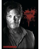 The Walking Dead Daryl Fleece Throw Bedding Blanket Home.