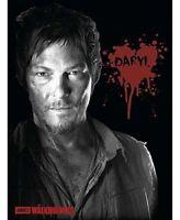 The Walking Dead Daryl Fleece Throw Bedding Blanket Home.