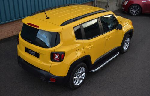 2015+ Barras laterales de aluminio pasos que ejecutan las placas para caber Jeep Renegade
