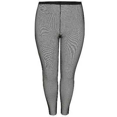 YoursClothing Plus Size Womens Ladies Limited Collection Fishnet Leggings