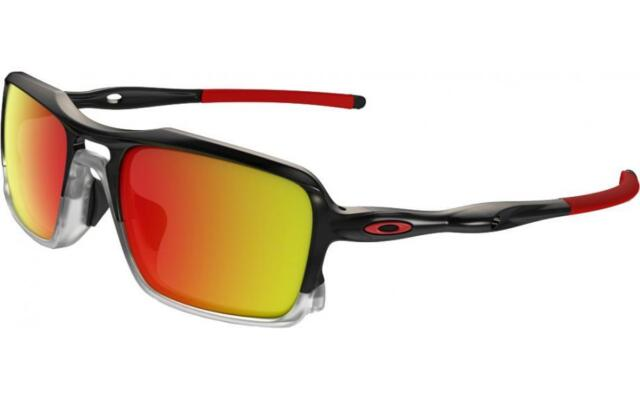 6495dcef68c Oakley Triggerman Sunglasses Black Ink Ruby Iridium 926610 for sale ...