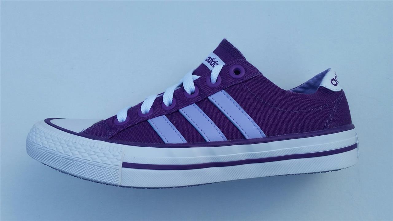 ADIDAS women VL NEO toile Baskets RAISINS   purple neuf f38390 &