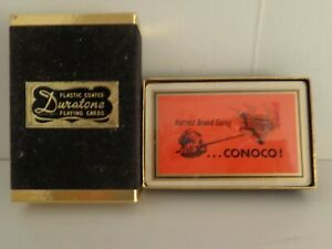 Conoco Duratone Playing Cards Hottest Brand Going
