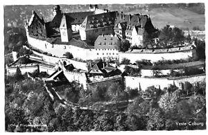 AK-Coburg-Veste-Coburg-Luftbildansicht-um-1958