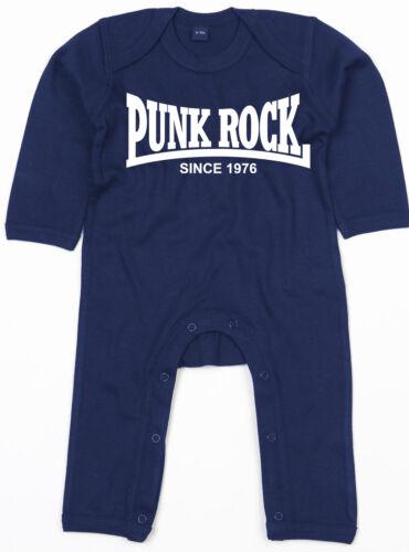 Punk rock since 1976 rompasuit Navy Body