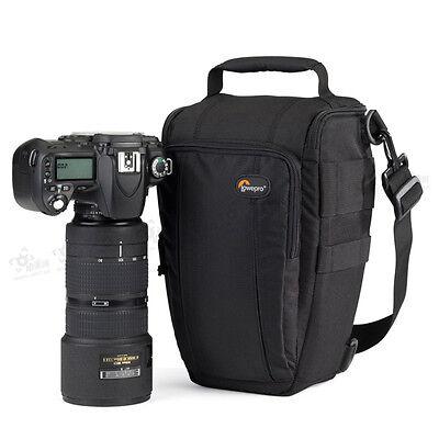 Lowepro Toploader Zoom 55 AW DSLR Camera Holster Shoulder Bag Case & Rain Cover