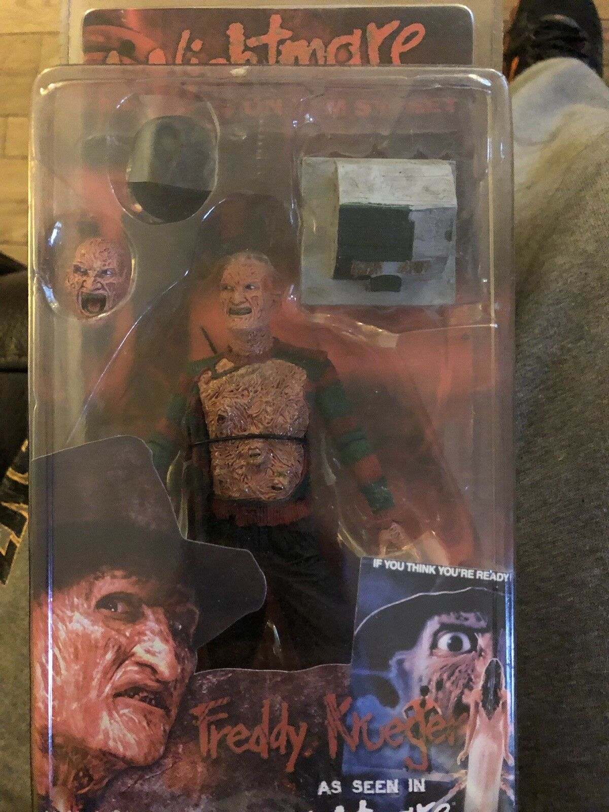 NECA Nightmare On Elm Street Part 3 FROTdy Figure