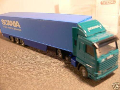 1//87 Wiking Scania Kühlkoffer-Sattelzug Scania 528 1 B