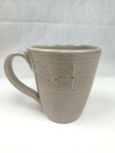 Umbriaverde Ceramiche Ceramic Coffee Mug Italy Gray Pottery Tea Cup