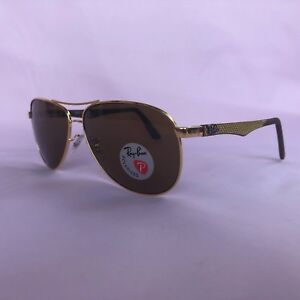 8d75f8f166 Details about NEW RAY BAN Men RB8313-N6 Tech Sunglasses Polarized 61mm  100%UV From Italy