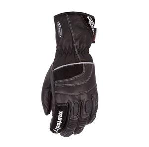 Motodry-Dry-Tour-Waterproof-Mens-Black-Motorcycle-Gloves