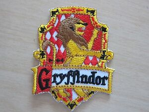 Harry potter house gryffindor embroidered iron on patch - Gryffindor crest high resolution ...