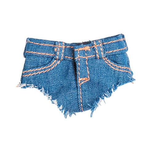 1//6 Scale Jeans Shorts Pants 12inch Female Action Figure Clothes DIY Accessories